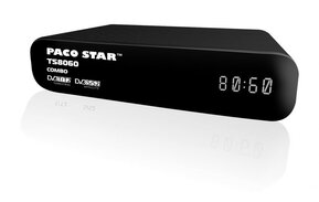 PACOSTAR TS8060 HD Terrestrial and Satellite receiver 2 in 1