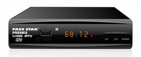 PACO STAR PSS6812 DVB-S/S2, IPTV compliant High Definition Satellite receiver