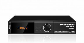 PACO STAR TS2060 digital DVB-S2/T2/C HD receiver with IPTV